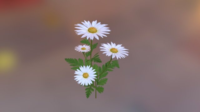 Flower 3d model 3D Model