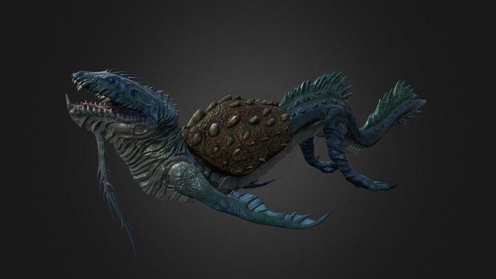 Seasil The Sea Monster 3D Model