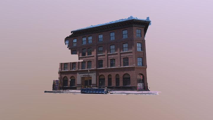 Incendio Building Test 3D Model