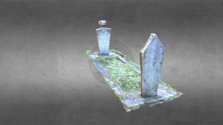 Altun-alem tombstone 2 3D Model