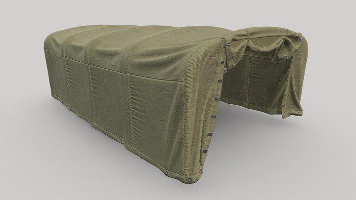 3d model Tent ZIL-157. 3D Model