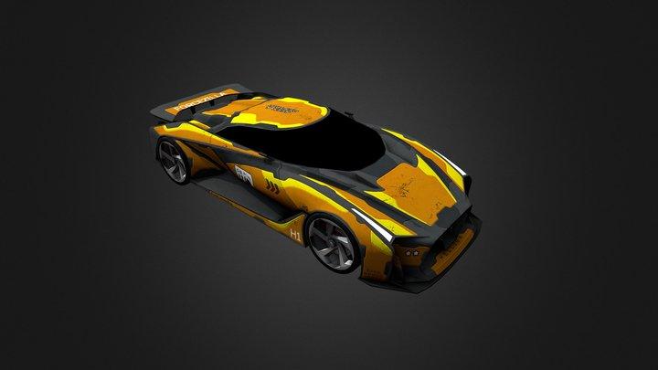 GTR(Game car) 3D Model