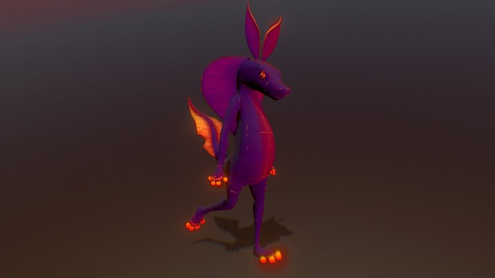 Reptisect - Animated 3D Model