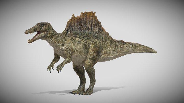 Spinosaurus Rigged 3D model 3D Model
