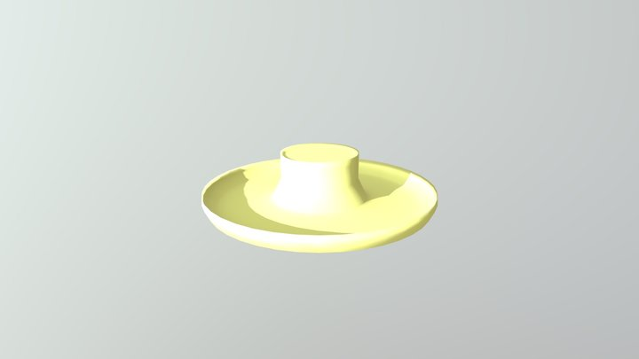 Farmer Sunhat 3D Model