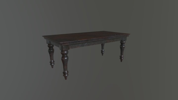 Haunted Mansion - Coffee Table 3D Model