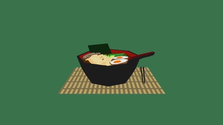 Noodles 3D Model