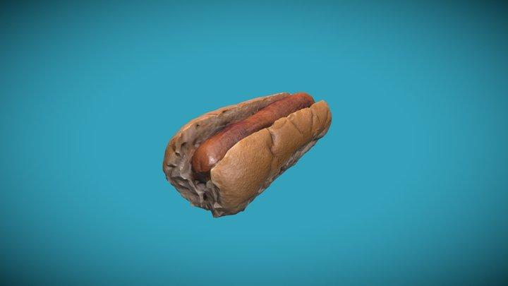 Hot Dog Photogrammetry 3D Model