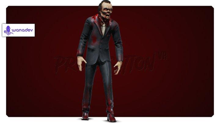 Propagation - Zombie 3D Model