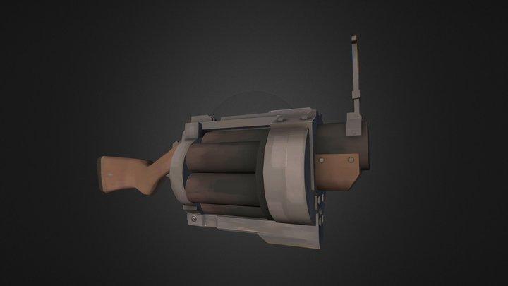 Cha Siu Pow: The Pork Bun Launcher 3D Model
