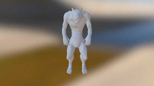 Werewolf (Work in progress) 3D Model