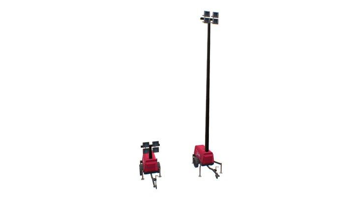 Speedy Hire - Generac Towerlight VT1 3D Model