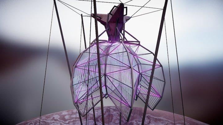 Meditation Chamber v0.3 3D Model