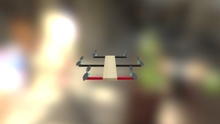 Hexacopter 3D Model