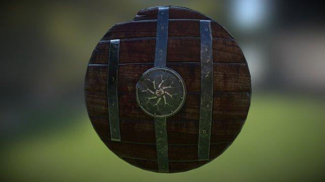 Newbie Shield 3D Model