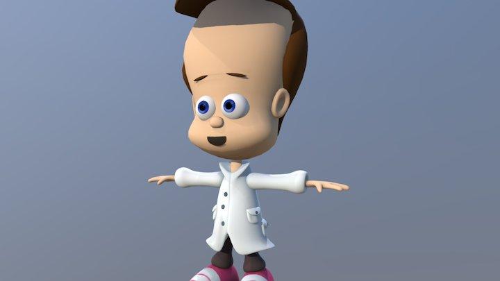 Johnny Quasar 3D Model
