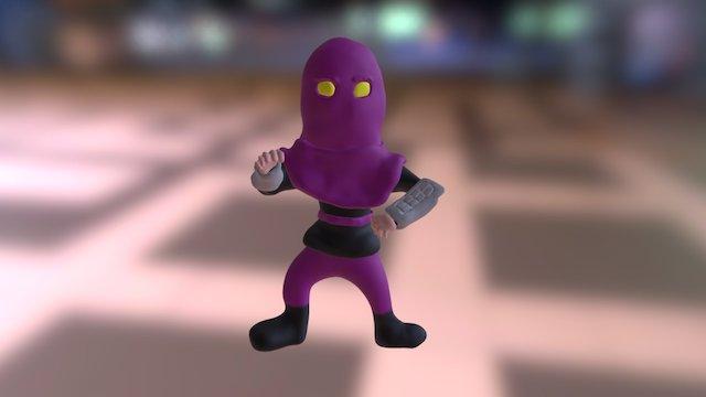 TMNT Foot Soldier 3D Model