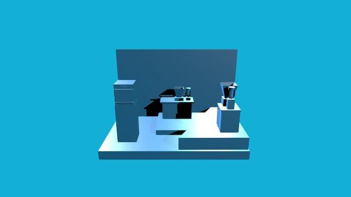 Vitale Stand 3D Model