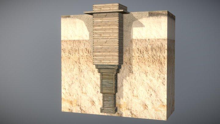 Well in Olevsk 3D Model