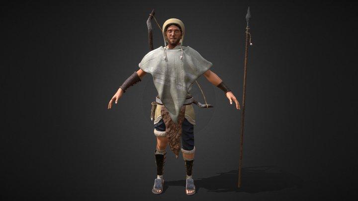 Peruvian Hunter [Chara_Adv_Scult_Pose] 3D Model