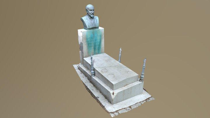 Georges Méliès Grave 3D Model