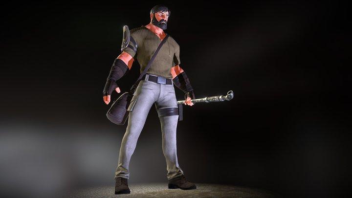 Mason 3D Model