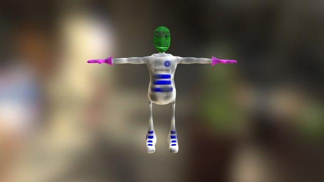 Corvo Model 3D Model