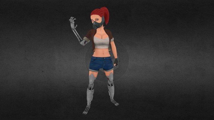 Mecha_girl 3D Model