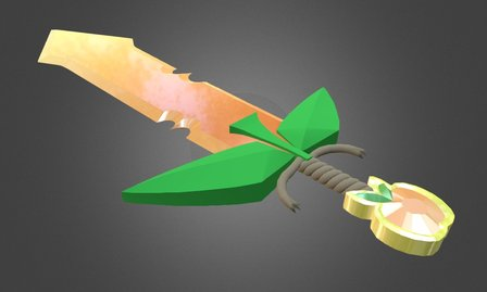 Applejack's Sword 3D Model