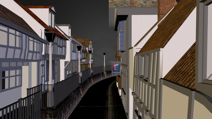 All_Saints_Street.zip 3D Model