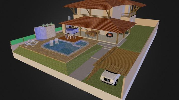 Casa Sérgio A 3D Model