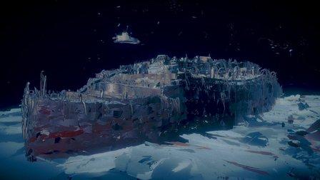 """Tilt Brush """"Titanic"""", final version 3D Model"""
