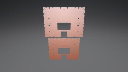 BigBox Lower Frame Support Comparison 3D Model