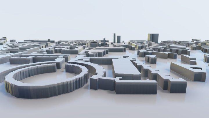 3D Model of Berlin 3D Model