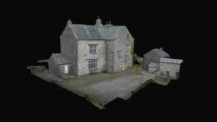 Blease Hall, Oxenholme 3D Model