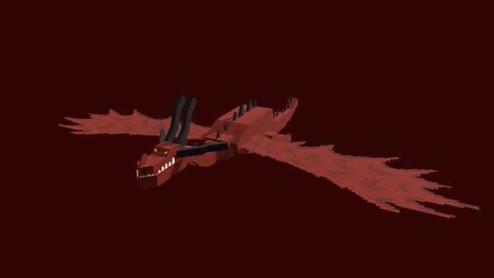 Monstrous Nightmare 3D Model