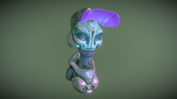 alien pink 3D Model