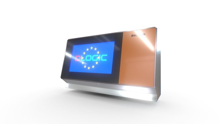 Touch_Display 3D Model