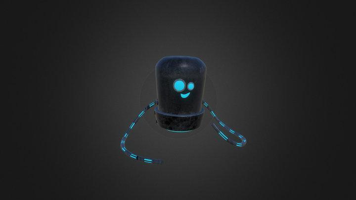 Funny Robot 3D Model