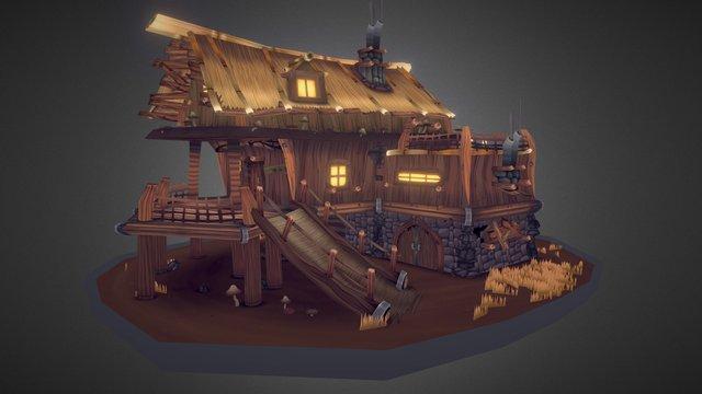 Cosy Lodge 3D Model