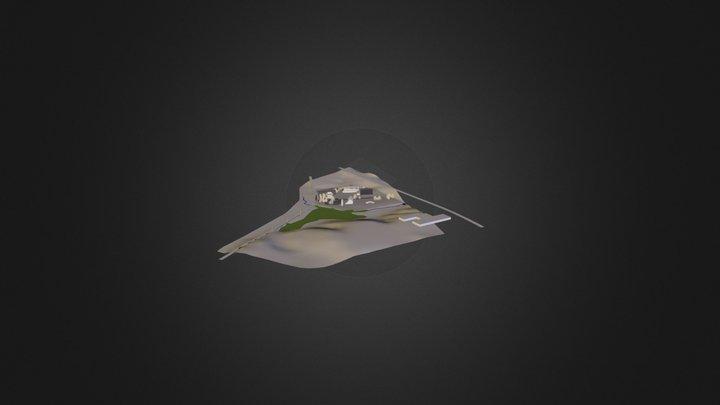 Reap_FullSiteTerrainWCAD 3D Model