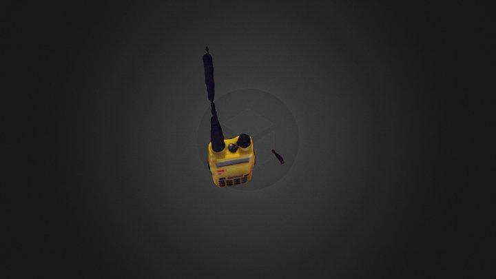 UV 5R radio 3D Model