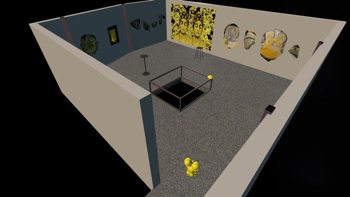 Meta Kodama Gallery 3D Model