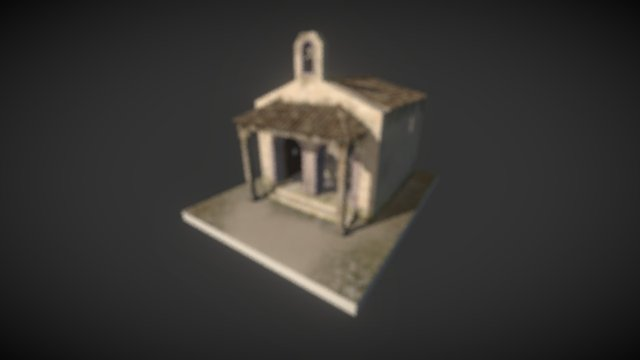 Ermita Rural 3D Model