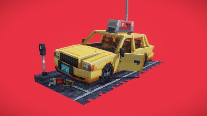 NYC Taxi 3D Model
