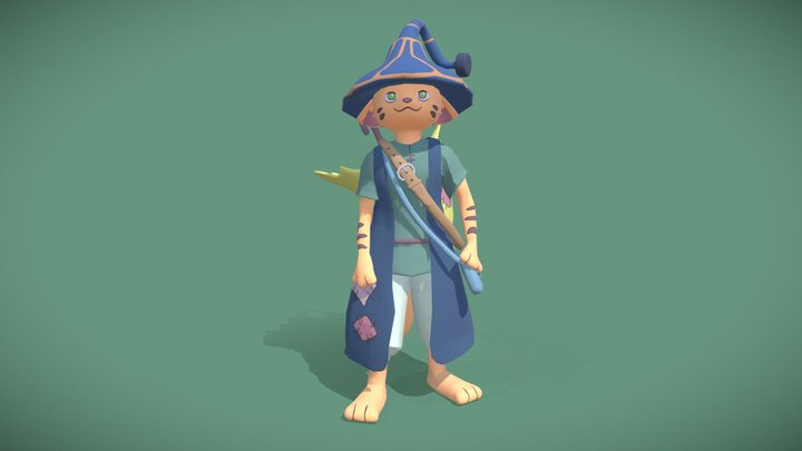 Jutter - Ni No Kuni 3D Model