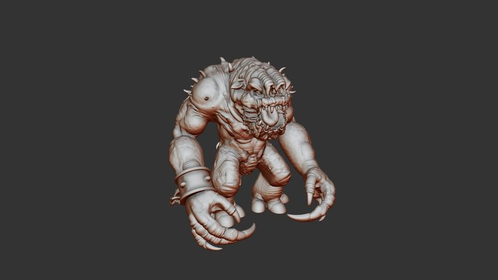 (Rancor) May the fourth challenge 1st May 2021 3D Model