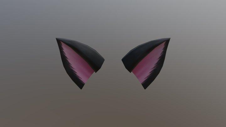 Catears Smaller 3D Model