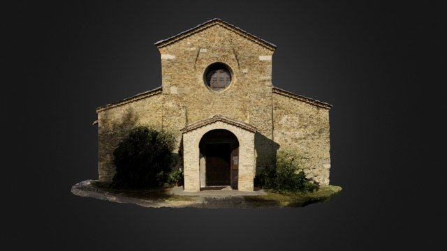 Pieve Tho_Front 3D Model
