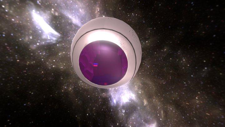 Saiyajin Spacepod 3D Model